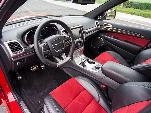 2015 Jeep Grand Cherokee SRT Quick Take: Seeing Red - Kelley Blue Book