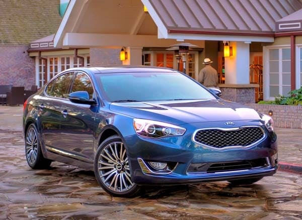 2015 Kia Cadenza adds features, starts at $35,700 - Kelley ...