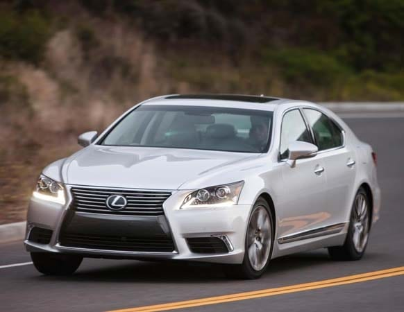 2015 lexus ls updates its multimedia system kelley blue book. Black Bedroom Furniture Sets. Home Design Ideas