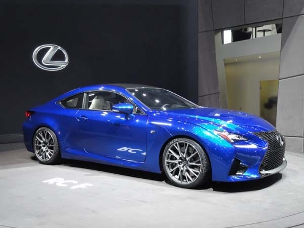 2015 lexus rc 350 f sport revealed kelley blue book. Black Bedroom Furniture Sets. Home Design Ideas