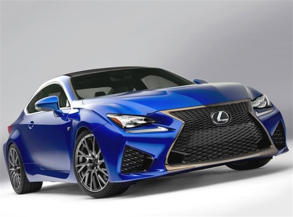 The Eagerly Anticipated 2015 Lexus RC F Is Making Its Global Debut In  Detroit, And This Higher Performance Iteration Of The Lexus RC Coupe  Revealed Last ...