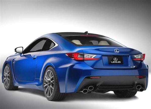 2015 Lexus RC F revealed  Detroit 2014  Kelley Blue Book
