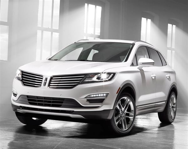 2014 Honda Accord Sport For Sale >> 2015 Lincoln MKC Crossover unveiled - Kelley Blue Book