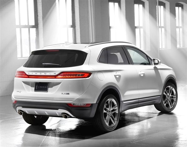 2015 Acura Mdx For Sale >> 2015 Lincoln MKC Crossover unveiled - Kelley Blue Book