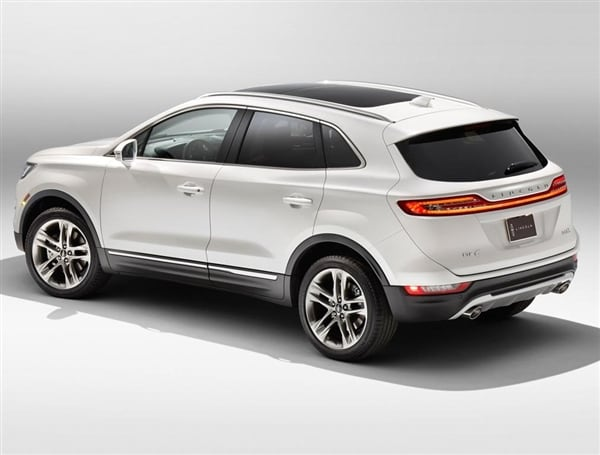 2015 Lincoln MKC Crossover unveiled - Kelley Blue Book