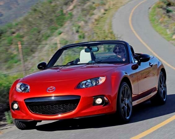2015 mazda mx 5 miata and 25th anniversary edition models priced kelley blue book. Black Bedroom Furniture Sets. Home Design Ideas