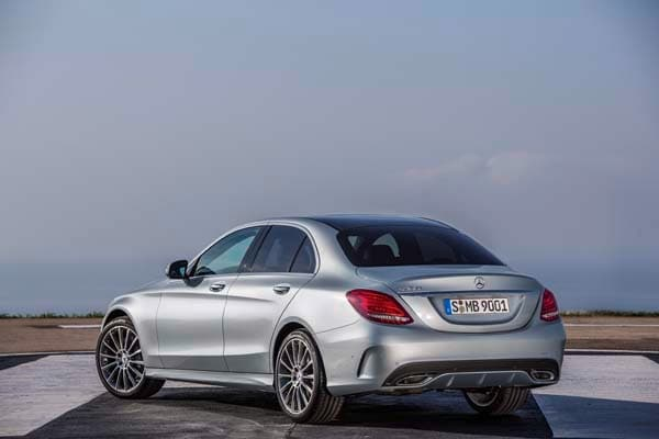 2015 Mercedes-Benz C-Class First Review: A Chip Off the Old S-Class Block 3
