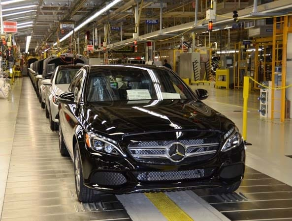 The First Of New 2017 Mercedes Benz C Cl Models Have Now Begun Rolling Off Embly Line At Firm S U Plant In Tuscaloosa