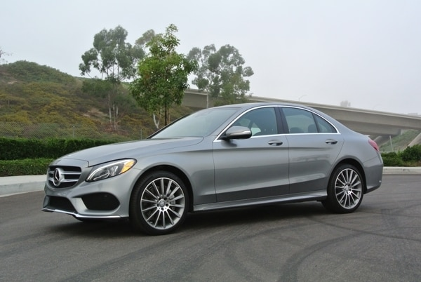 2015 mercedes benz c300 sedan quick take c class brims for Average insurance cost for mercedes benz c300