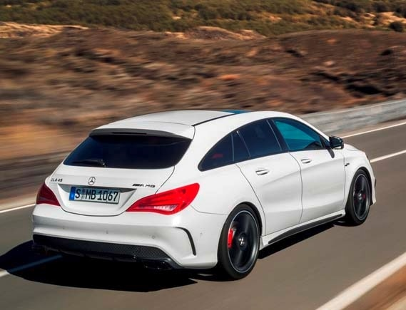 2017 Mercedes Benz Cla Shooting Brake A Wagon We Still Want Kelley Blue Book