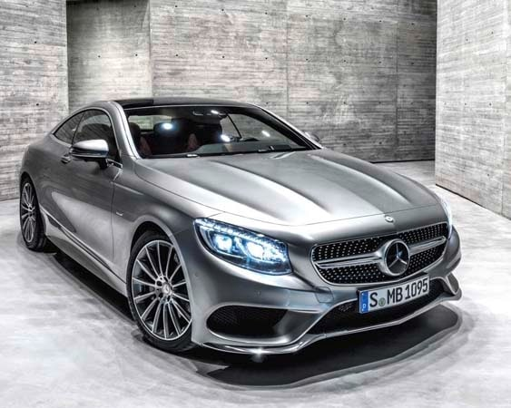 2015 Mercedes-Benz S-Class Coupe revealed 35