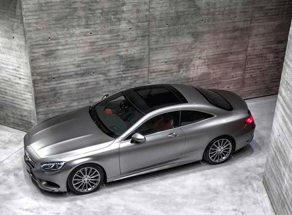 2015 Mercedes-Benz S-Class Coupe revealed 41