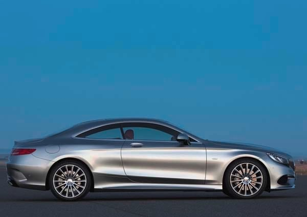 2015 Mercedes-Benz S-Class Coupe revealed 43