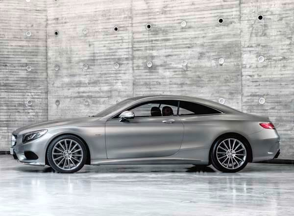 2015 Mercedes-Benz S-Class Coupe revealed 45