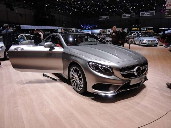 2015 Mercedes-Benz S-Class Coupe revealed 3
