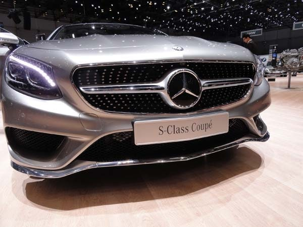 2015 Mercedes-Benz S-Class Coupe revealed 5