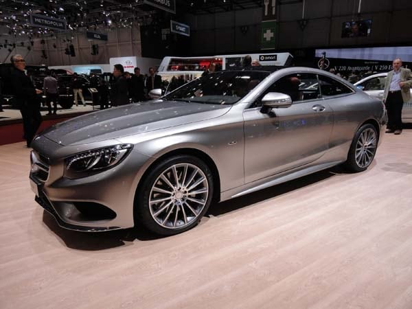 2015 Mercedes-Benz S-Class Coupe revealed