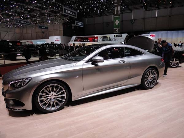 2015 Mercedes-Benz S-Class Coupe revealed 4