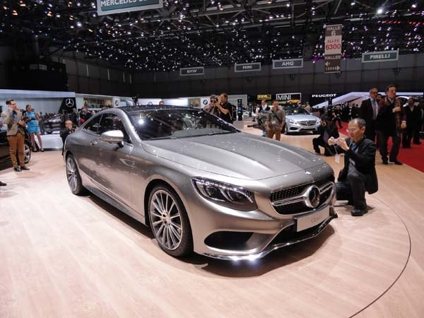 2015 Mercedes-Benz S-Class Coupe revealed 1