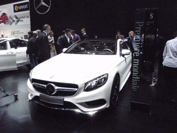 2015 Mercedes-Benz S-Class Coupe revealed 11