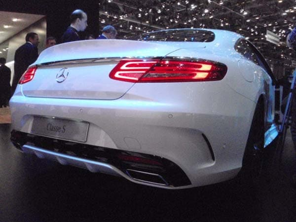 2015 Mercedes-Benz S-Class Coupe revealed 15