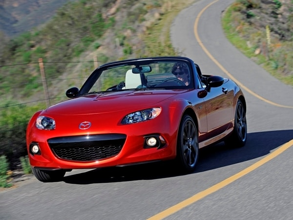 2015 mazda mx 5 miata 25th anniversary edition sells out in 10 minutes kelley blue book. Black Bedroom Furniture Sets. Home Design Ideas