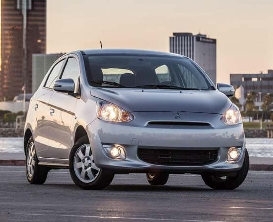 2015 mitsubishi mirage is epas top rated non hybrid