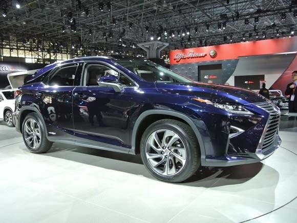 2015 New York International Auto Show: Sedans In The