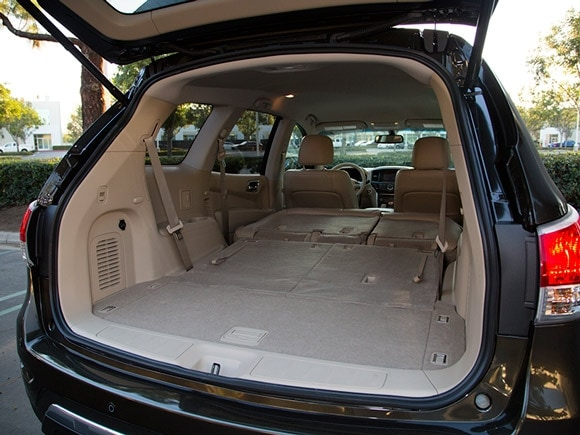 Best midsize suv for cargo autos post for Compare interior space of suvs