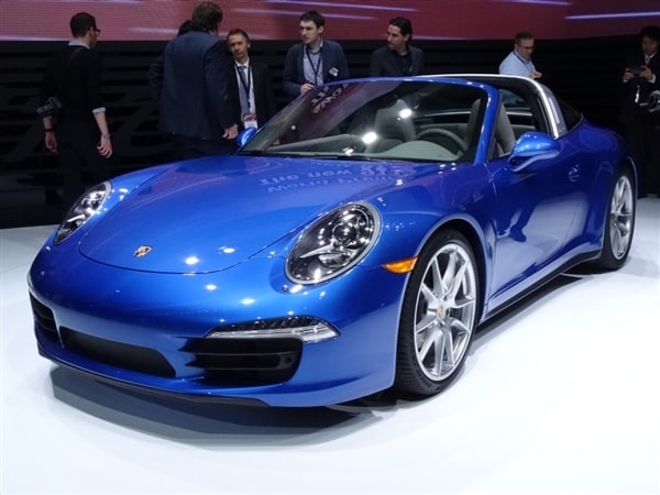 Expanding The Lineup By Bringing Back A Classic Model Designation, The 2014  Porsche 911 Targa Made Its World Debut At The Detroit Auto Show In Both  Targa 4 ...