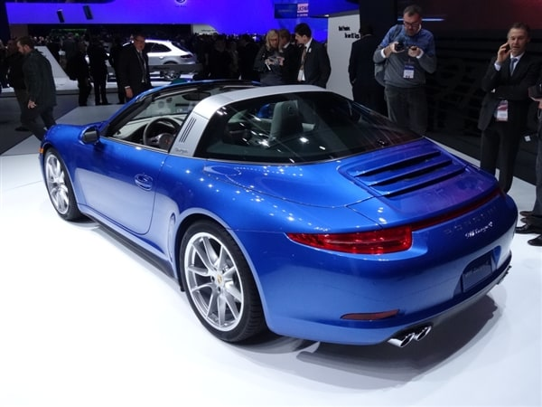 2014 Porsche 911 Targa4Targa 4S Show New Top Tech In