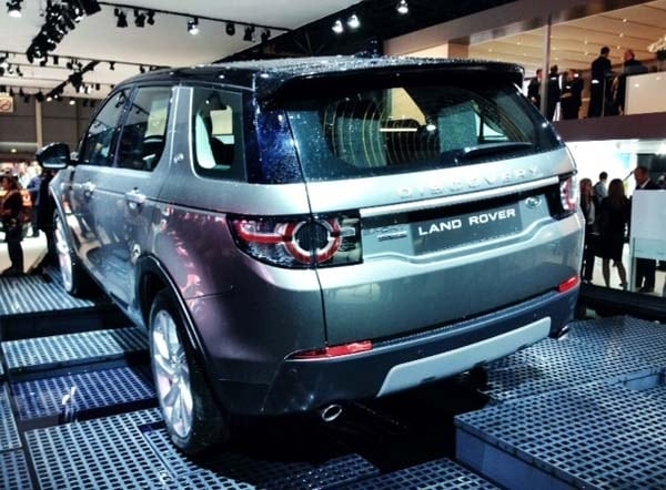 2015 Land Rover Discovery Sport unveiled 2
