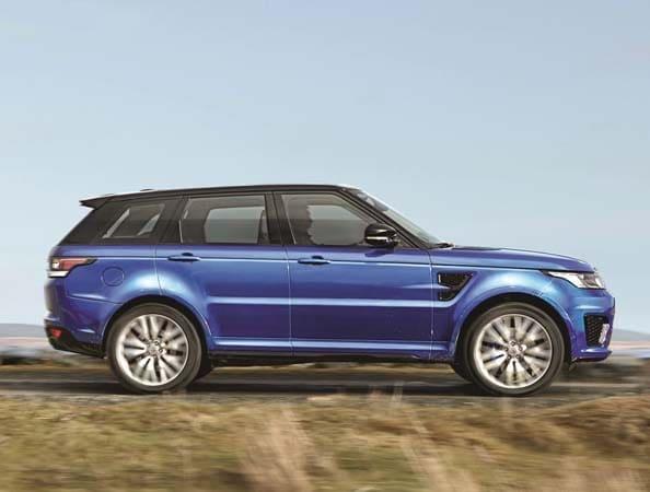2015 Range Rover Sport SVR packs 550-hp 3