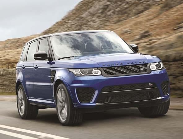 2015 Range Rover Sport SVR packs 550-hp 4