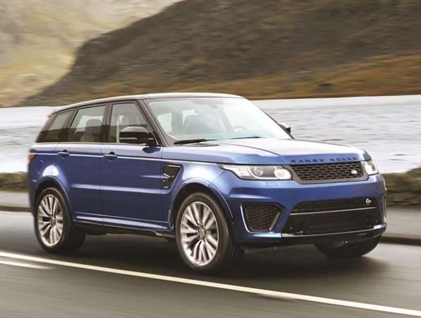 2015 Range Rover Sport SVR packs 550-hp 6