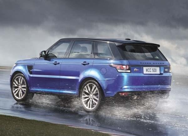 2015 Range Rover Sport SVR packs 550-hp 11