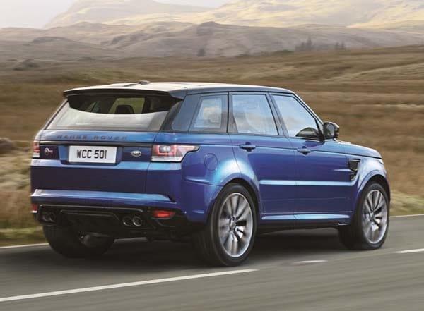 2015 Range Rover Sport SVR packs 550-hp 2