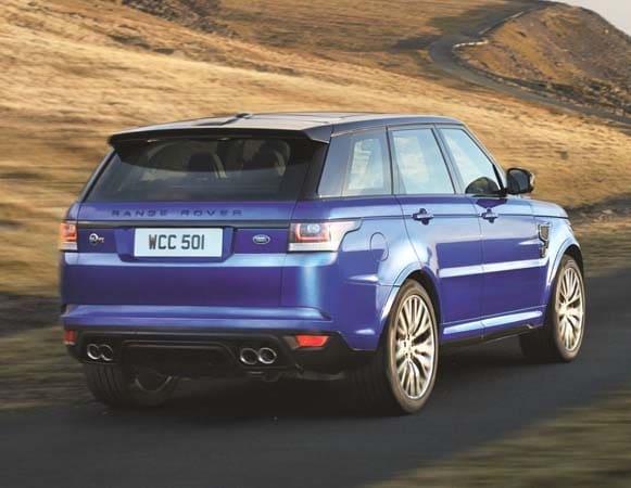 2015 Range Rover Sport SVR packs 550-hp 5