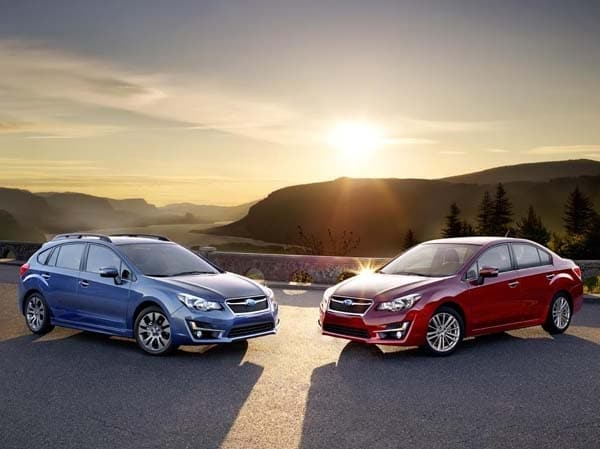 2015 Subaru Impreza: Face freshened, features added 3
