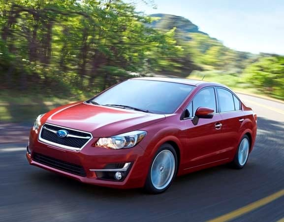 2015 Subaru Impreza: Face freshened, features added