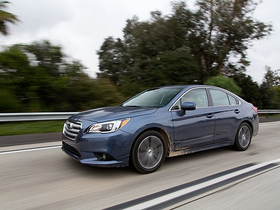 Midsize Sedan Comparison 2015 Subaru Legacy  Kelley Blue Book