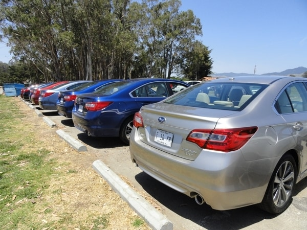 2015 Subaru Legacy First Review 8