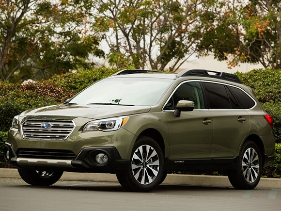 15 Best Family Cars: 2015 Subaru Outback | Kelley Blue Book