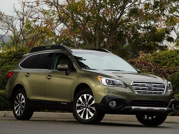 15 Best Family Cars: 2015 Subaru Outback - Kelley Blue Book