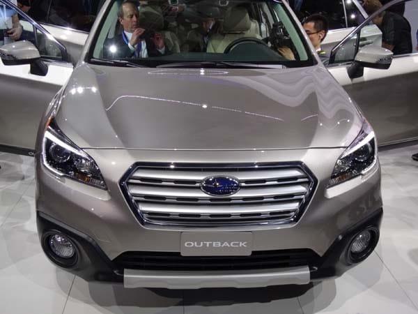 2015 Subaru Outback gets a major makeover 5