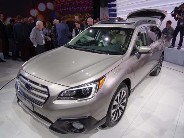 2015 Subaru Outback gets a major makeover