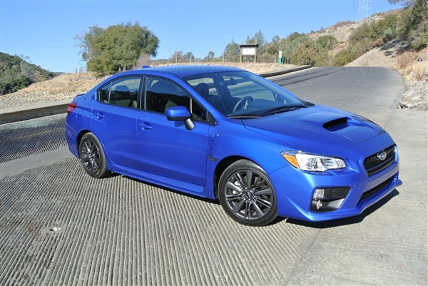 2015 Subaru Wrx First Review All Grown Up Kelley Blue Book