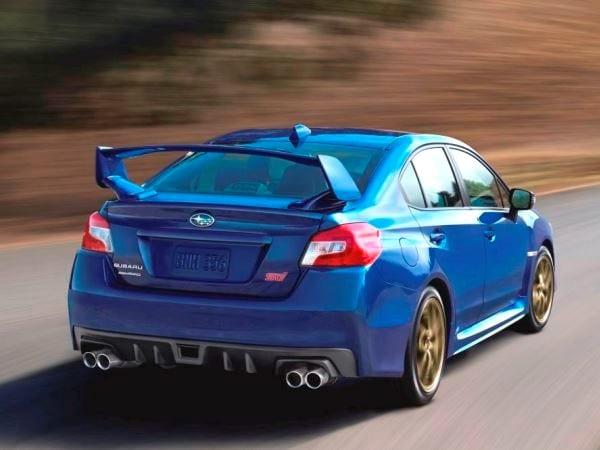 2015 Subaru Wrx Sti Storms Into Detroit Kelley Blue Book