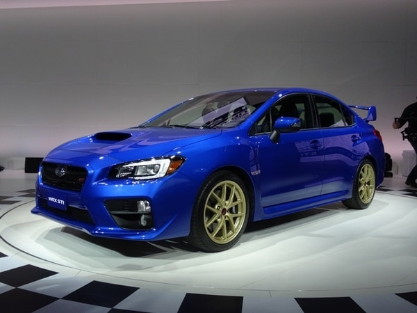 2015 Subaru Wrx Sti Storms Into Detroit Kelley Blue Book