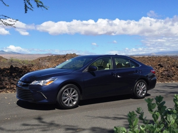 2015 toyota camry first review redesigned for relevance   kelley blue book